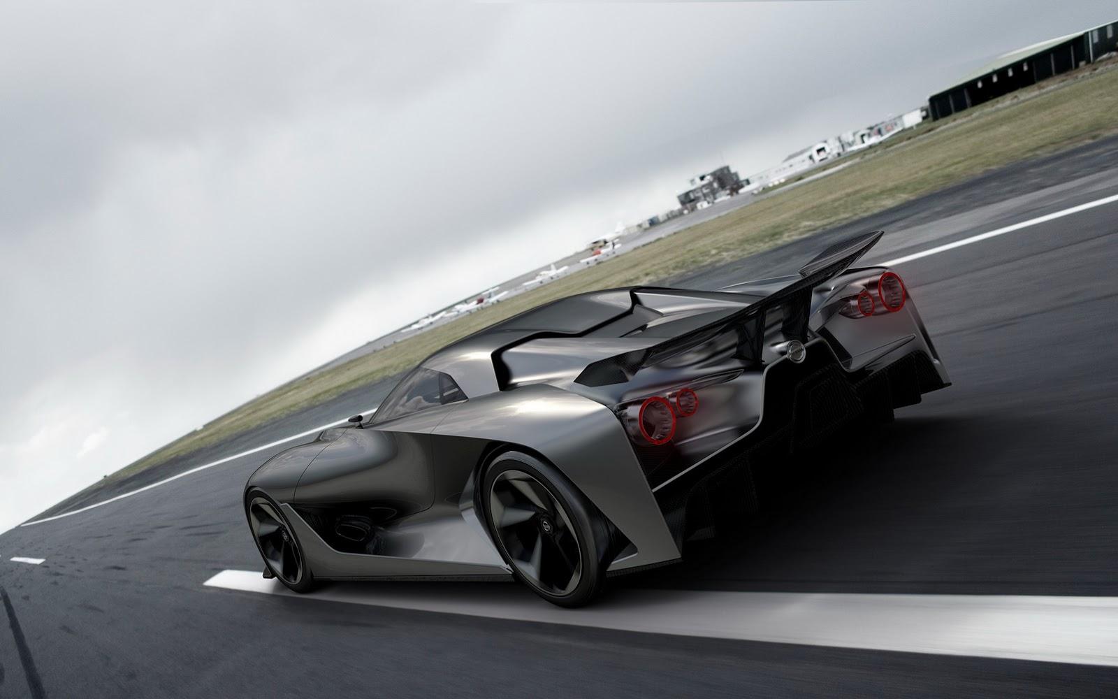 Nissan GT-R thế hệ mới được thiết kế dựa trên Vision 2020 Concept