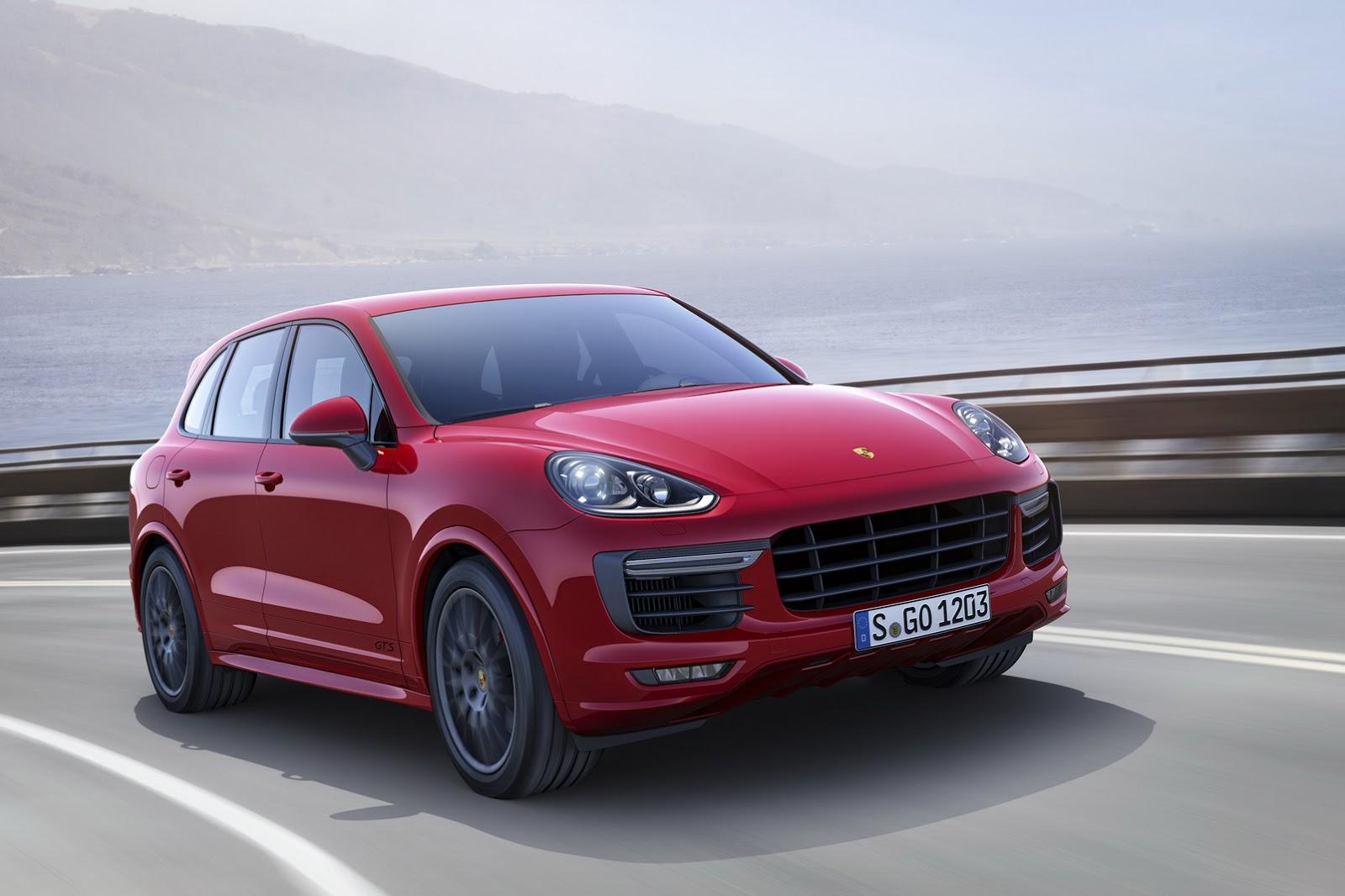 Porsche sắp ra mắt phiên bản Cayenne GTS 2015 tại triển lãm xe hơi Los Angeles 2014