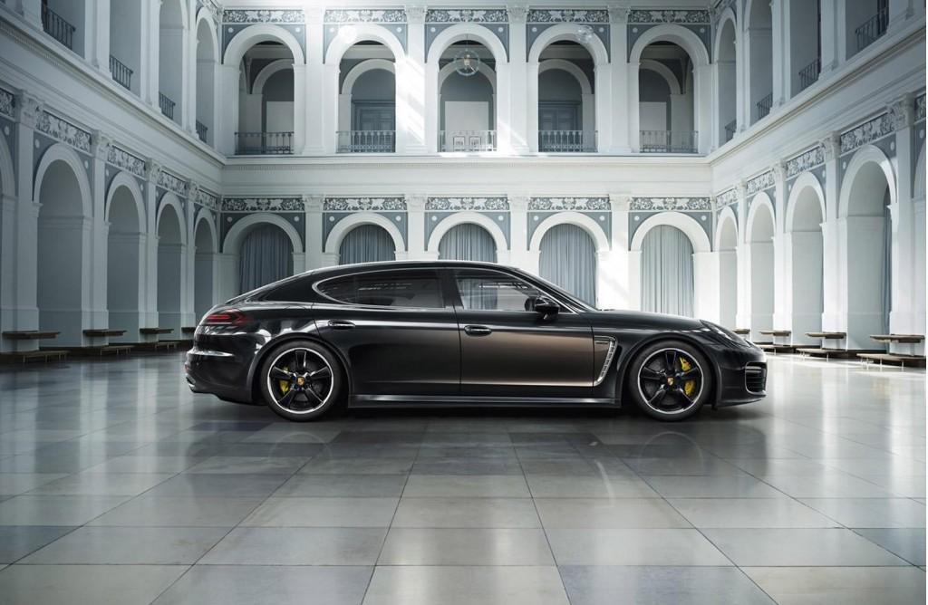 Ngoại thất sang trọng và tinh tế của Porsche Exclusive Series