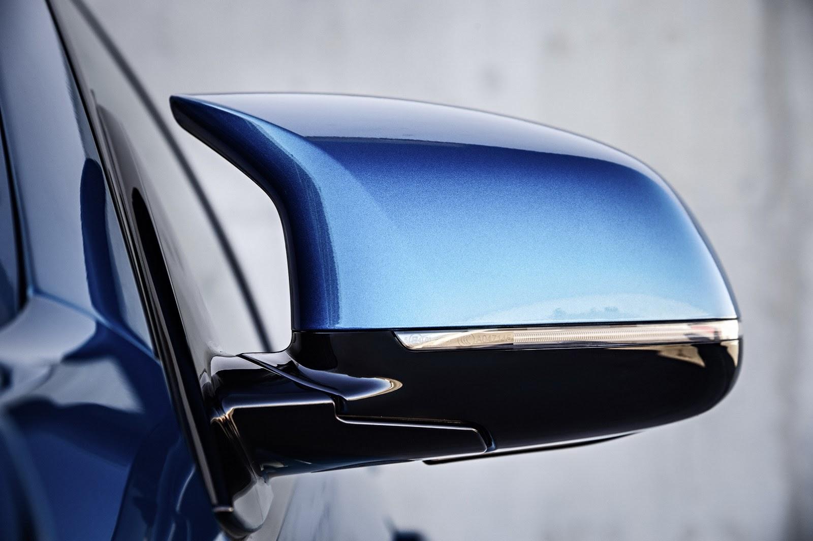 Kính chiếu hậu có thiết kế độc đáo và mâm xe thể thao X5M 2015