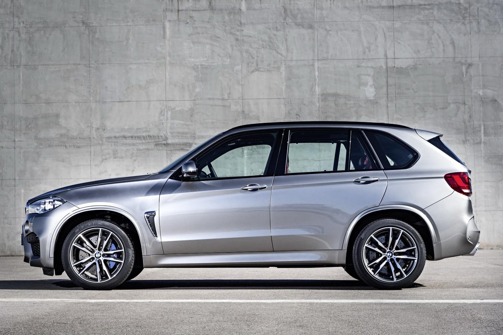 Ngoại thất thể thao đặc trưng của BMW X5M 2015