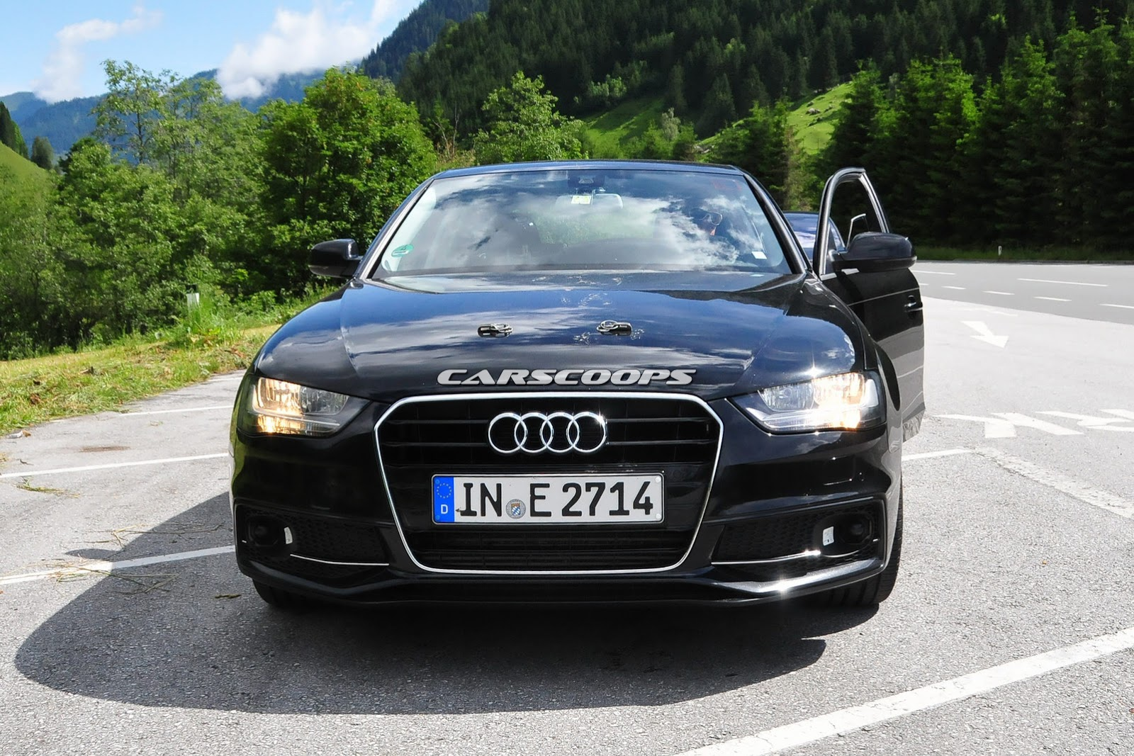 Audi A4 2015 trong cuộc kiểm tra tại Châu Âu
