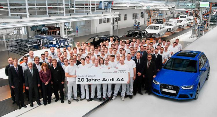 Audi kỷ niệm 20 năm ra đời dòng A4