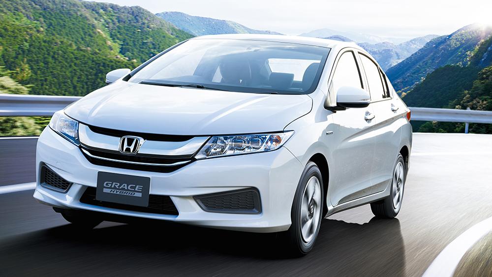 Honda City trang bị động cơ Hybrid được ra mắt tại Nhật với tên gọi là Honda Grace