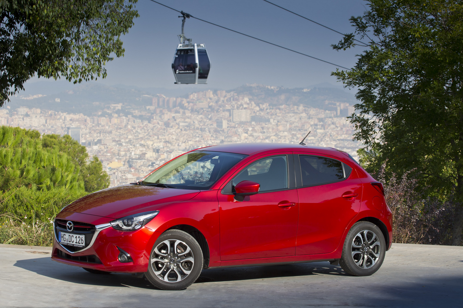 Ngoại thất của Mazda 2 thế hệ thứ 4 phiên bản Châu Âu