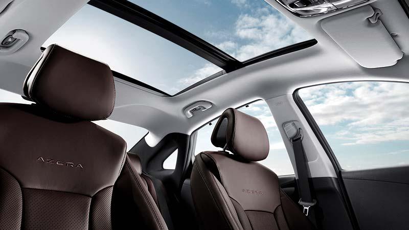 Nội thất sang trọng của Hyundai Azera