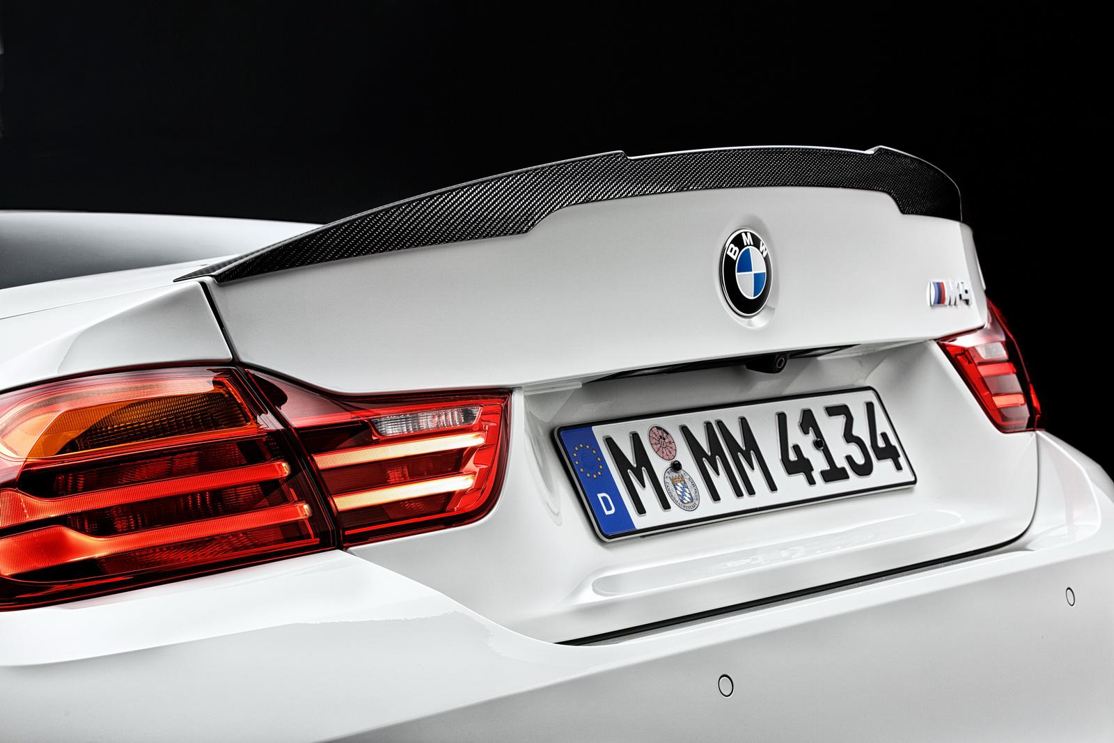 Ngoại thất thể thao ấn tượng của BMW M4 Coupe