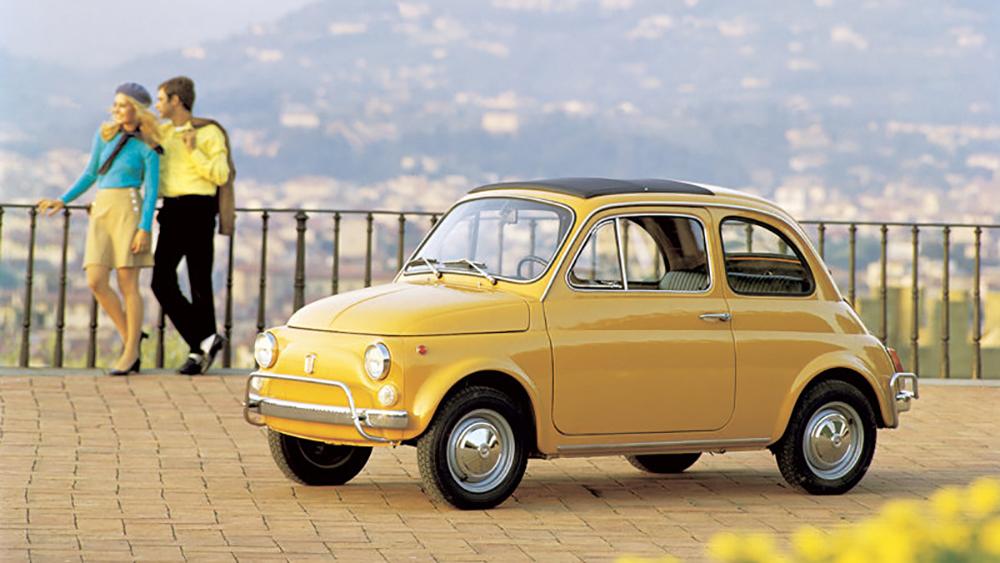 Fiat 500 - mẫu xe kinh điển