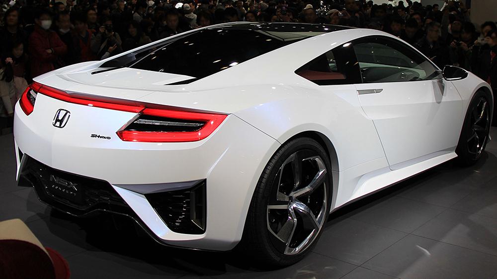 Honda NSX Concept ra mắt ấn tượng tại triển lãm xe hơi Detroit 2012