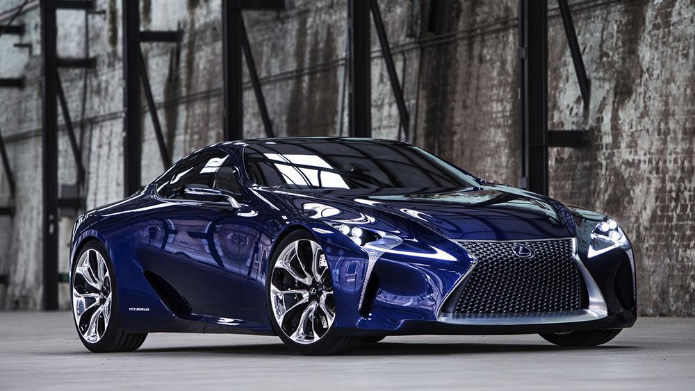 Thiết kế tinh tế của Lexus LF - LC Concept