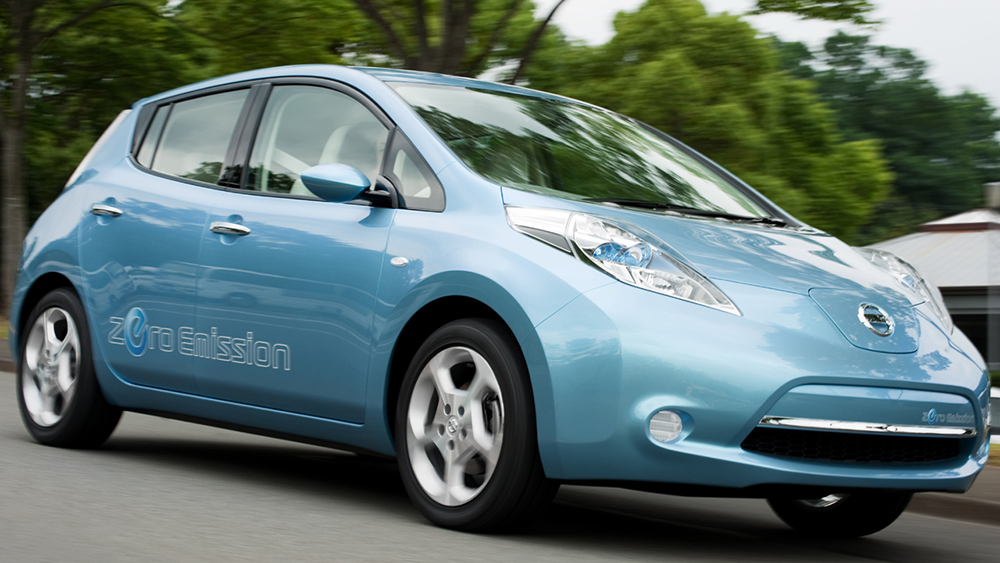 Thiết kế tinh tế của Nissan Leaf 2014