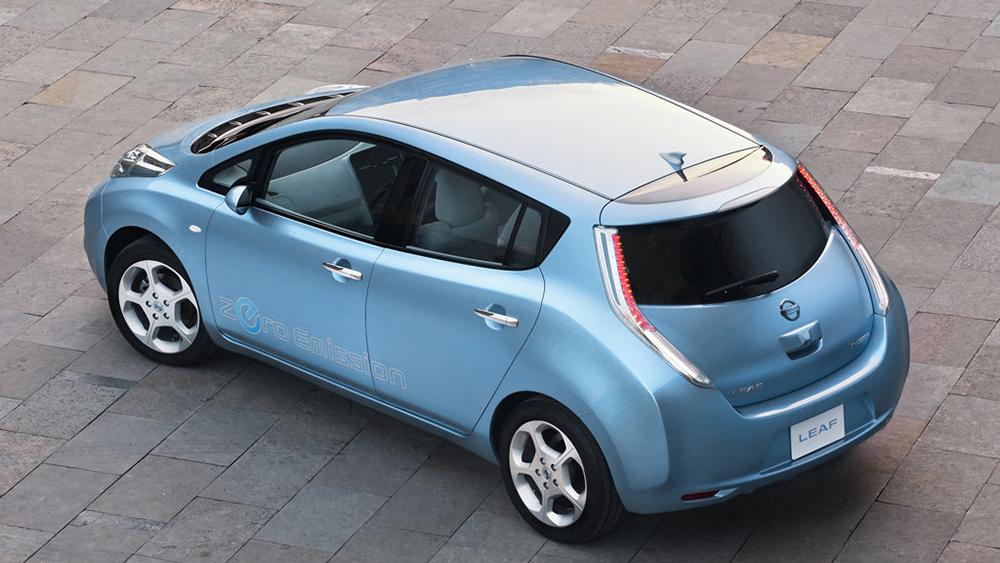 Nissan Leaf - mẫu xe điện bán chạy nhất thế giới