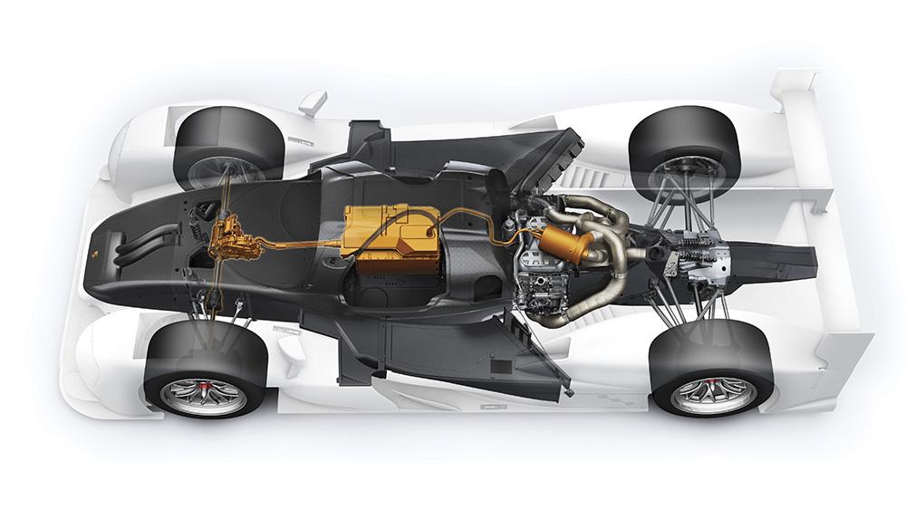 Hệ thống động cơ tinh vi của Porsche 919 Hybrid