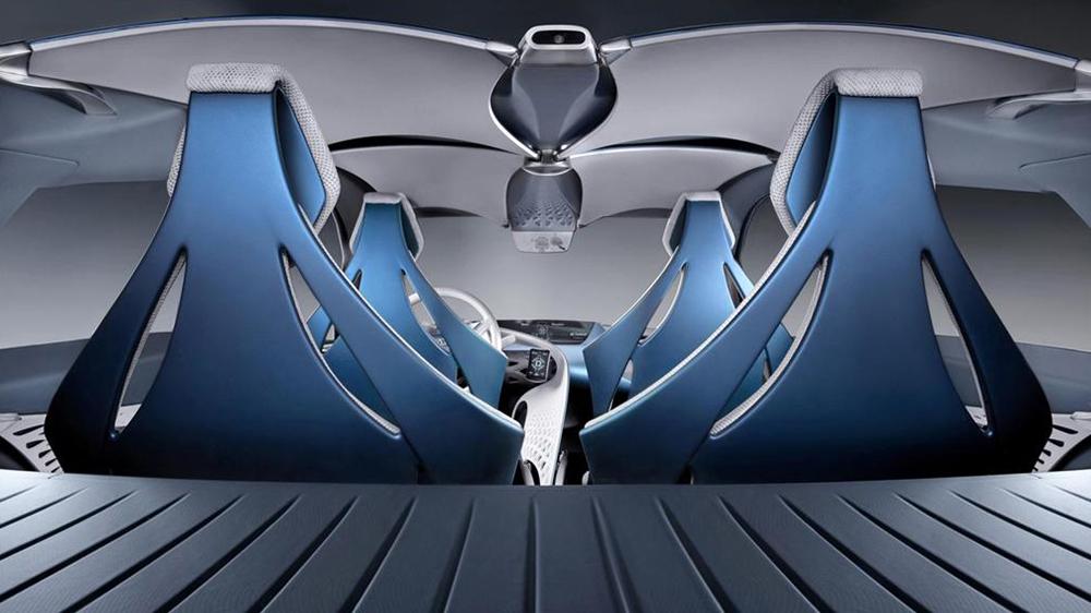 Nội thất bắt mắt của Toyota FT-Bh