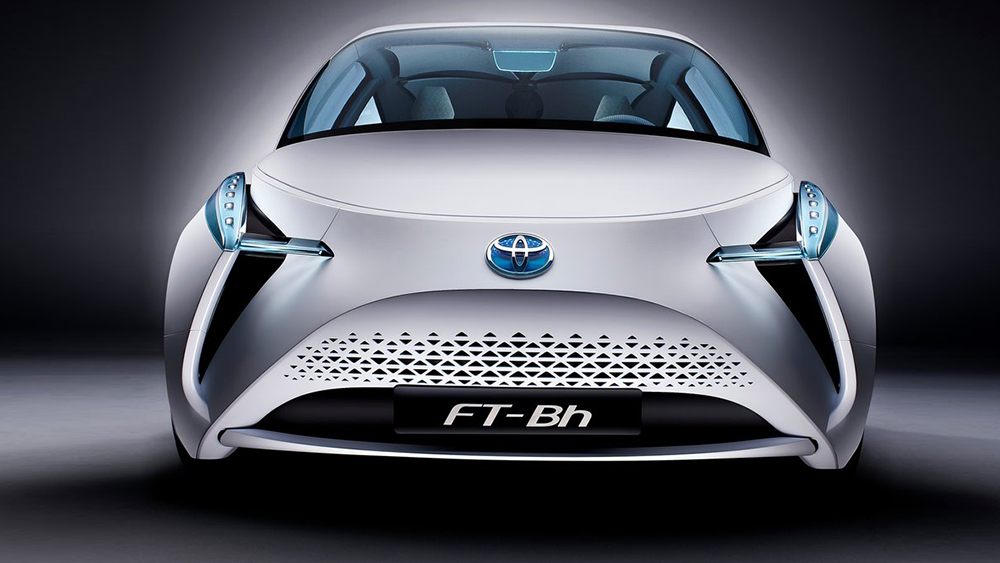 Thiết kế ngoại thất ấn tượng của Toyota FT-Bh