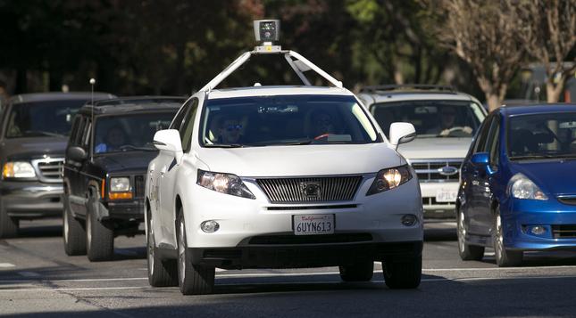Xe tự lái và bộ cảm biến của Google trong đợt thử nghiệm mới đây