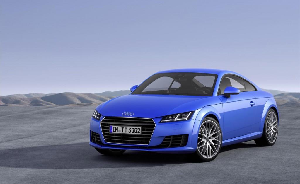 Audi TT 2016 phiên bản US sẽ được ra mắt tại triển lãm xe hơi Los Angeles 2014