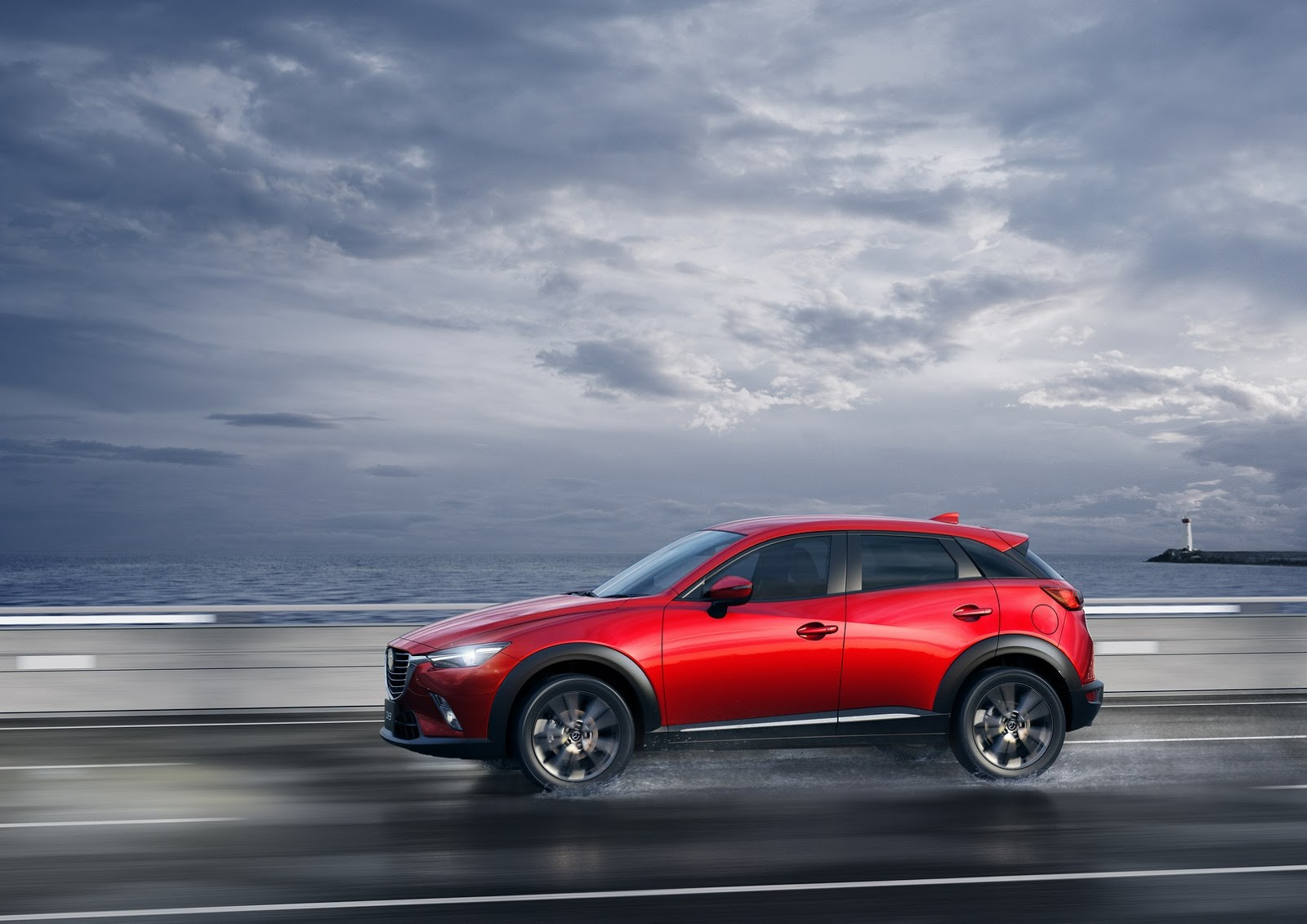 Ngoại thất trẻ trung của Mazda CX-3