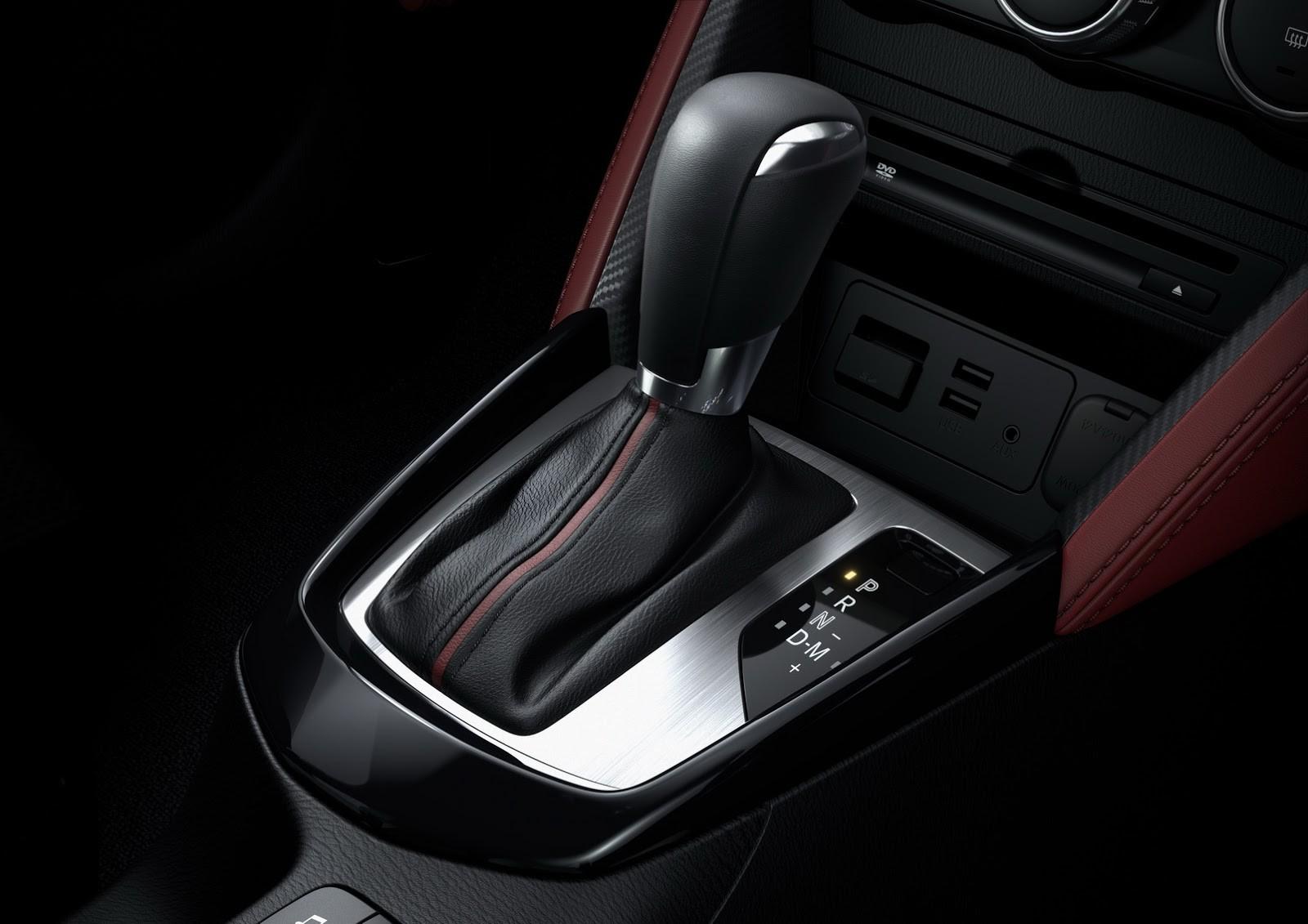 Nội thất tinh tế và hiện đại của Mazda CX-3 2016