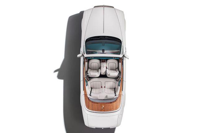 Ngoại thất ấn tượng của Maharaja Phantom Drophead Coupe