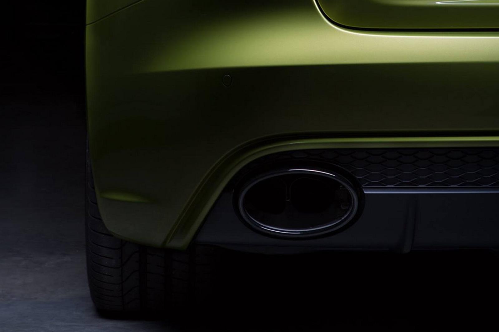 Ngoại thất tinh tế của Audi RS4 Avant