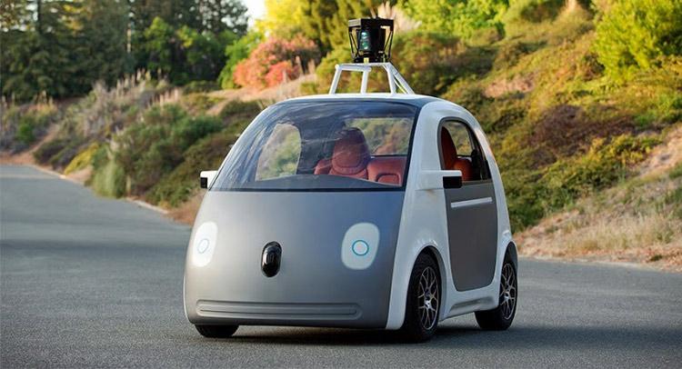 Một mẫu thử nghiệm xe tự lái của Google