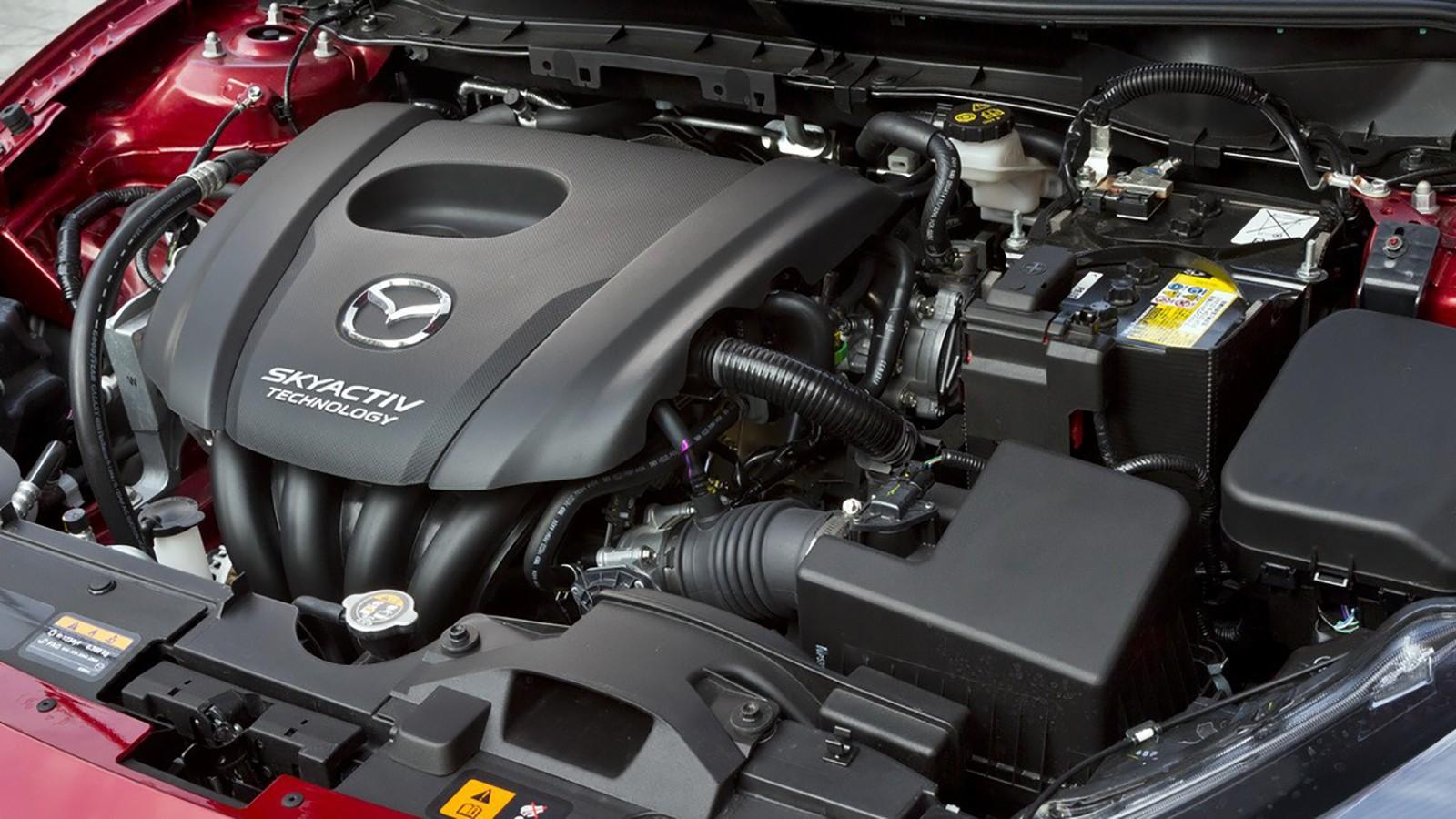 Mazda CX-3 được tranh bị động cơ mạnh mẽ, sử dụng công nghệ SKYACTIV mới