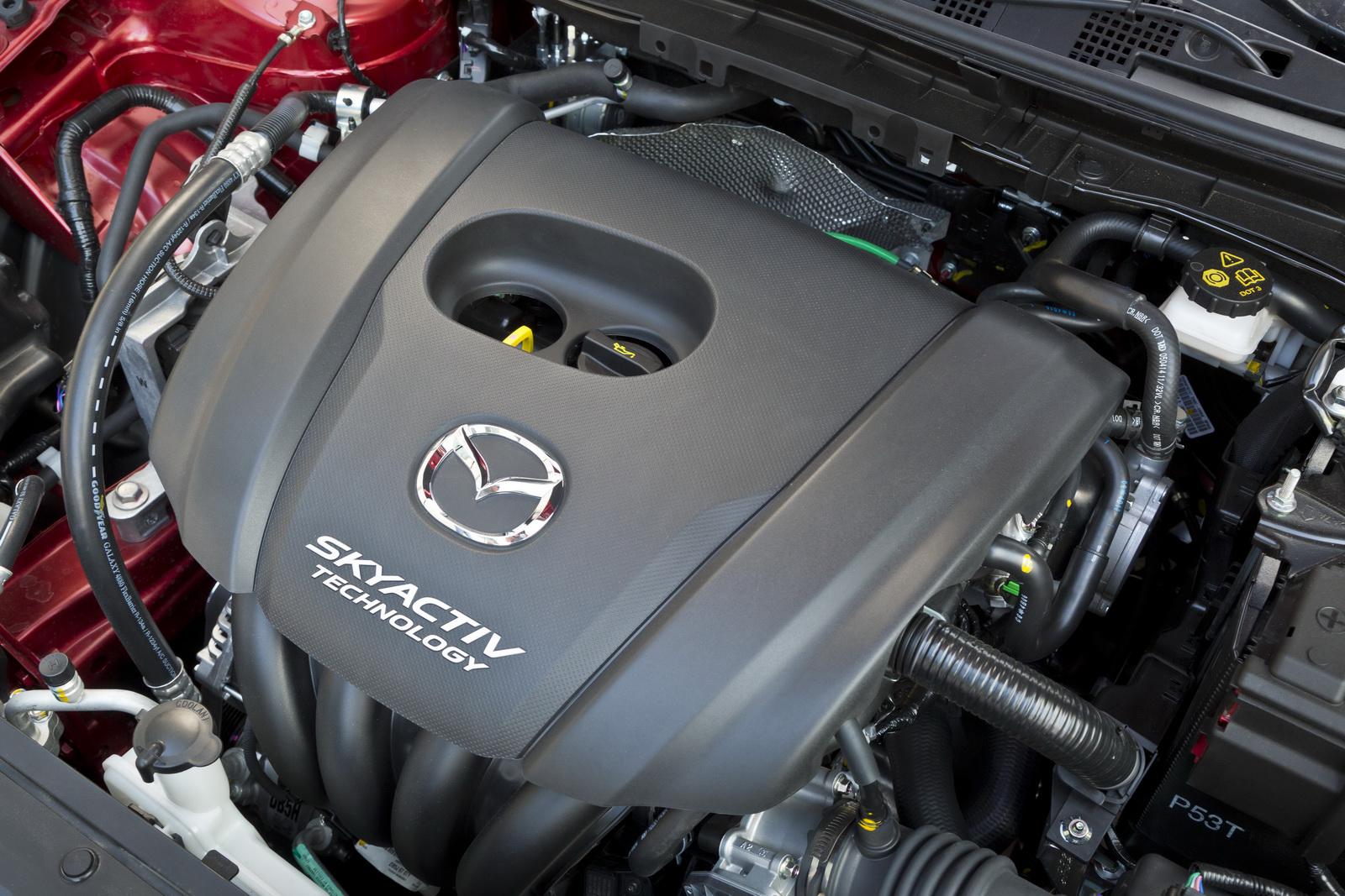Động cơ Skyactiv-G I4 1.5L trang bị trên Mazda 2 2015