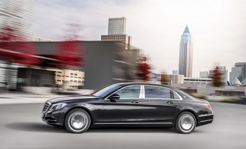 Thiết kế ấn tượng của xe siêu sang Mercedes-Maybach S600 2016