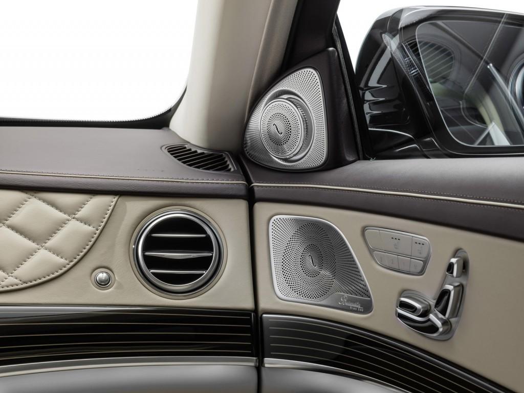 Nội thất của Mercedes-Maybach S600 thể hiện sự sang trọng đẳng cấp
