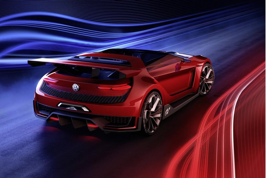 Thiết kế ấn tượng của GTI Roadster, Vision GT