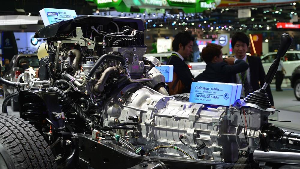 Hệ thống động cơ tiên tiến của mẫu xe bán tải Triton thế hệ mới