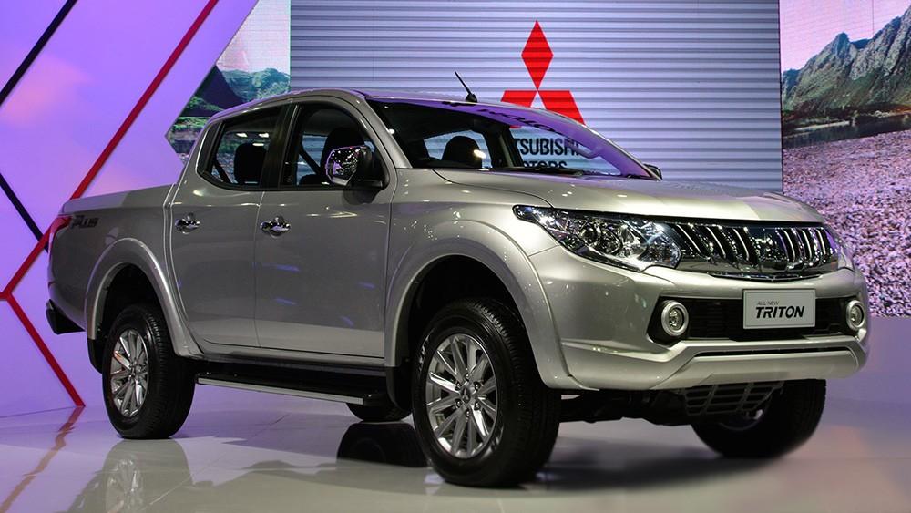 Bán tải Mitsubishi Triton 2015 được ra mắt tại Thái Lan