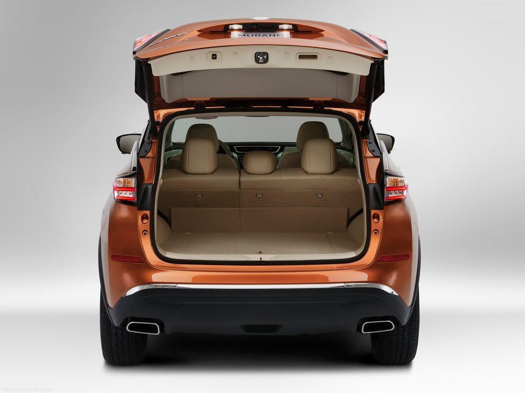 Khoang hành lý của Nissan Murano 2015 được thiết kế lại