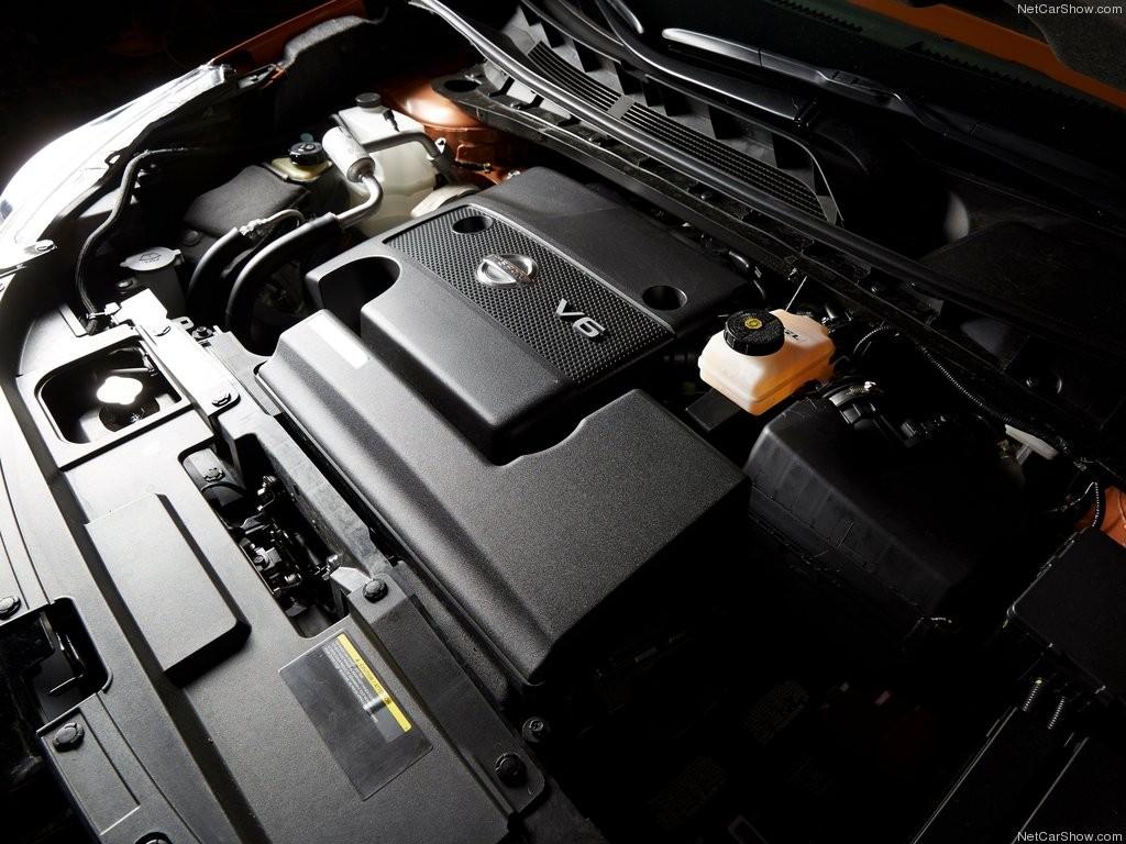 Động cơ DOHC V6 3.5L của Nissan Murano 2015