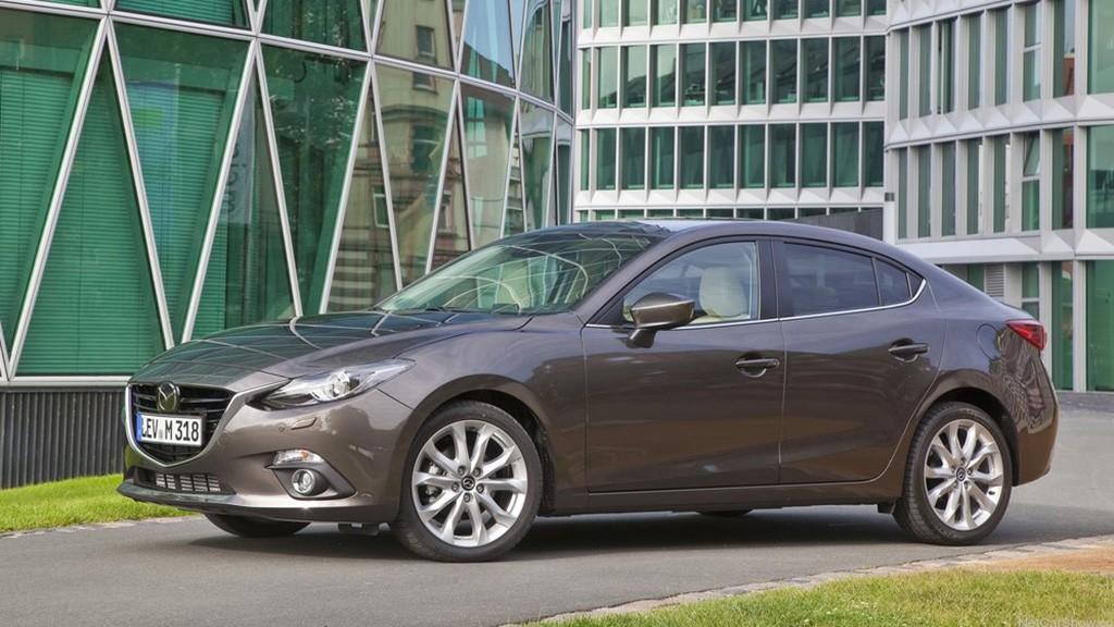Ngoại thất ấn tượng của Mazda 3 2014