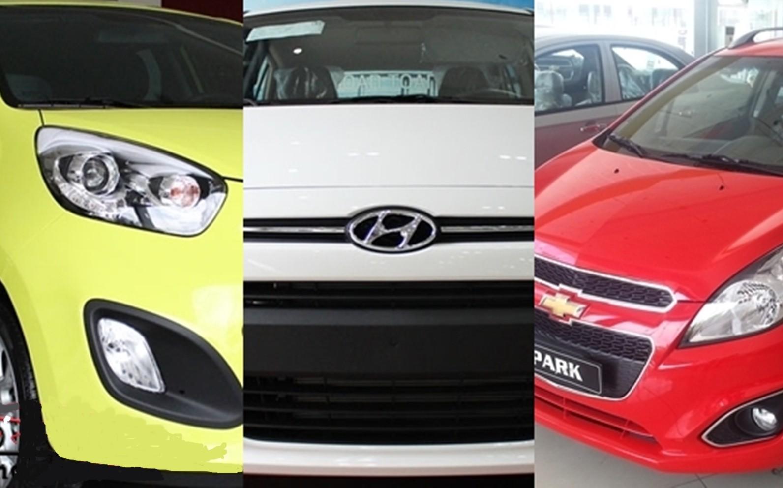 So sánh KIA Morning, Chevrolet Spark, Hyundai i10: Nhỏ gọn, tiết kiệm và phù hợp với thành thị