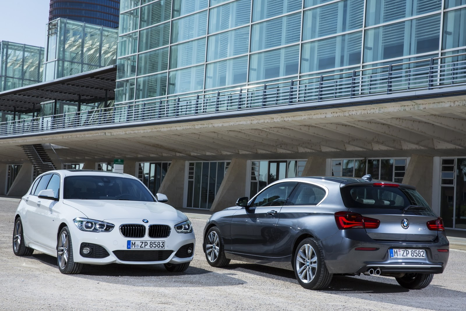 BMW1-Series Facelift 2016
