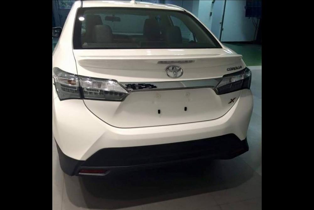 Corolla Altis facelift 2016