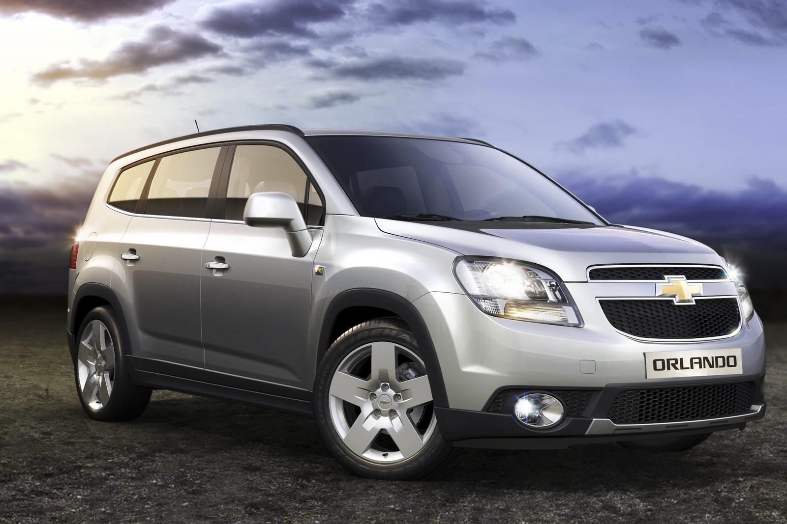 Các phân khúc ô tô ở Việt Nam - MPV - Chevrolet Orlando
