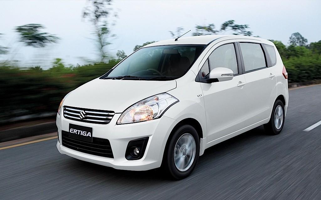 Các phân khúc ô tô ở Việt Nam - MPV - Suzuki Ertiga