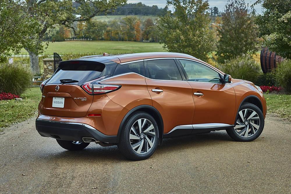 Nissan Murano Hybrid 2015