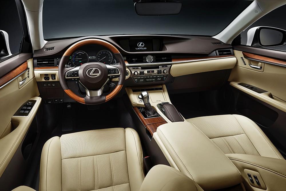 Lexus ES facelift 2016