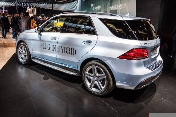 Mercedes-Benz 500e GLE plug-in hybrid
