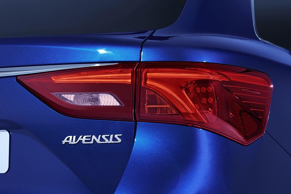 Hình ảnh về Toyota Avensis facelift 2015