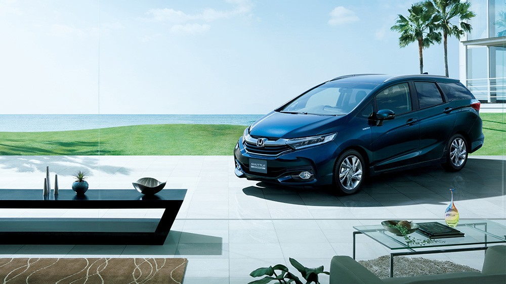 Honda Jazz Shuttle 2015