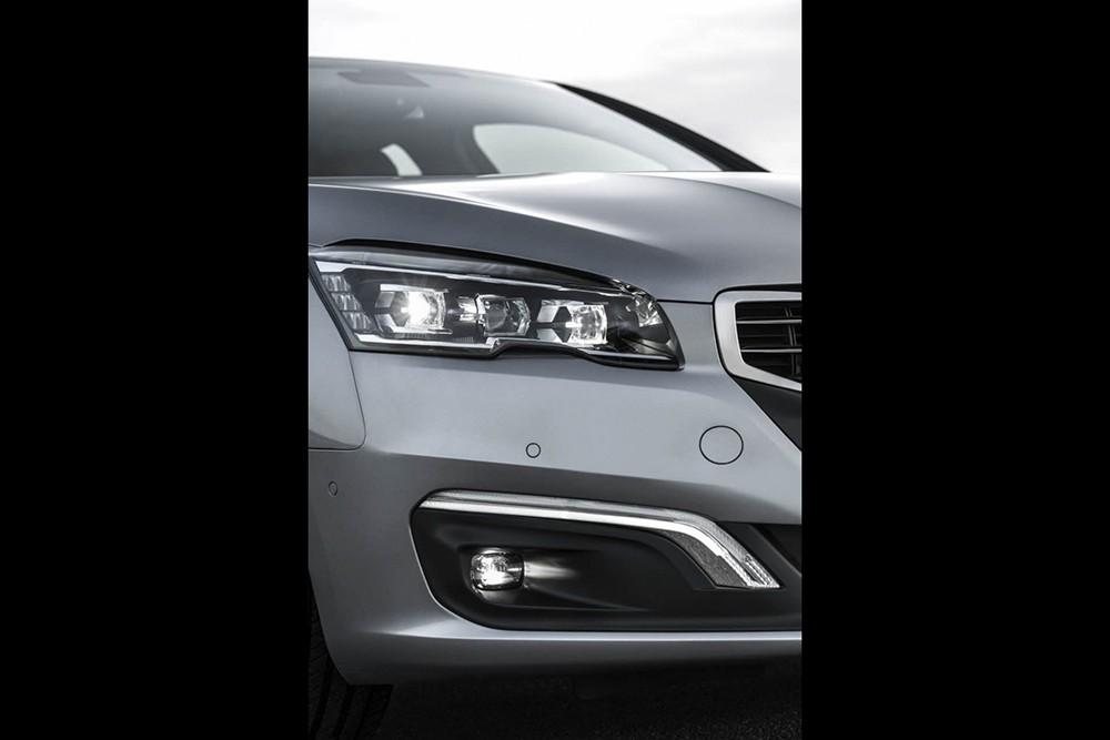 Peugeot 508 facelift 2015