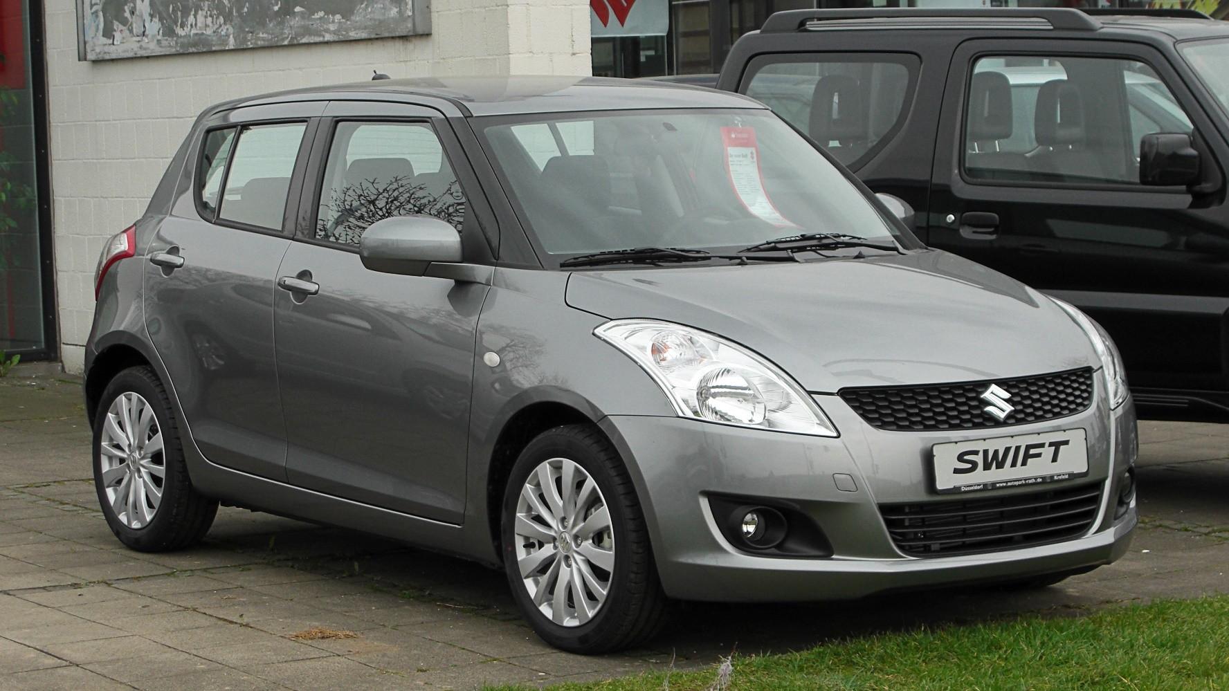 Suzuki Swift - xe ô tô dành cho phụ nữ
