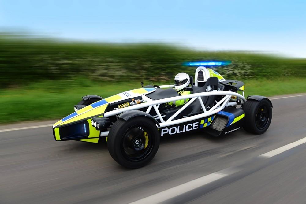Top 10 xe cảnh sát