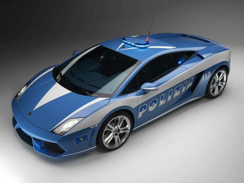 Lamborghini Gallardo LP560-4 - siêu xe cảnh sát